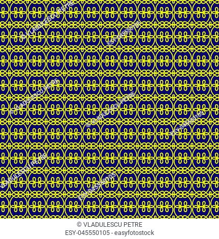 yellow shapes on dark purple background
