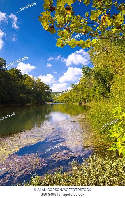 Meramec River, Missouri, USA