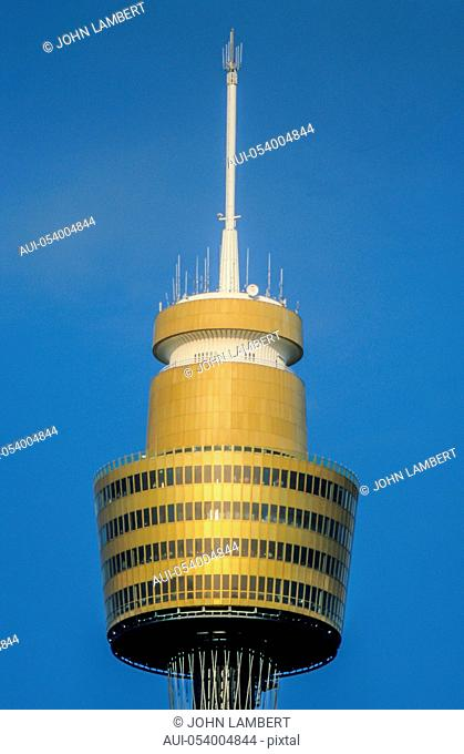 the sydney tower, sydney, new south wales, australia