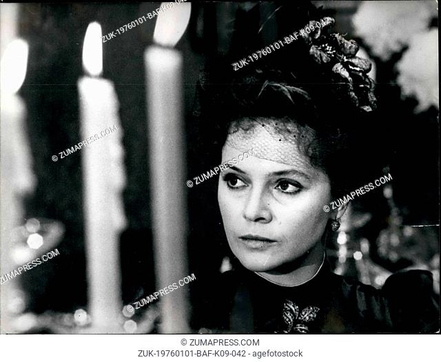 Jan. 01, 1976 - Charming Brunette star Laura Antonilli, well known for her sexy film, is now playing the role of a woman of the 'belle epoque' in the film 'The...