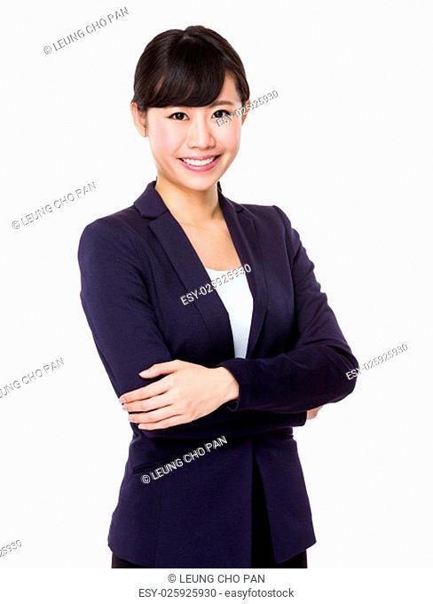 Asian Beautiful Businesswoman