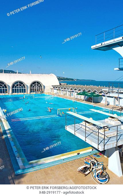 Primorski swimming pool and spa, Varna, Bulgaria