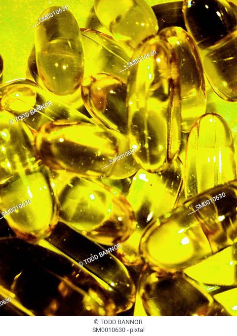 Fish oil gel caps