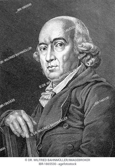 Johann Gottfried Herder (1744-1803), poet, philosopher
