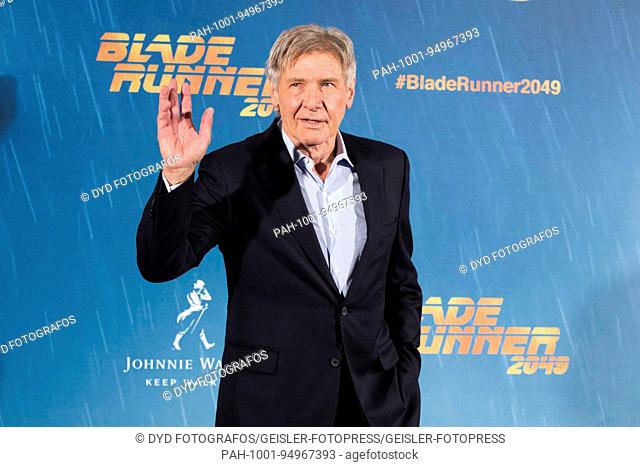 Harrison Ford at the Photocall for 'Blade Runner 2049' at Hotel Villamagna. Madrid, 19.09.2017 | Verwendung weltweit. - Madrid/Madrid/Spanien