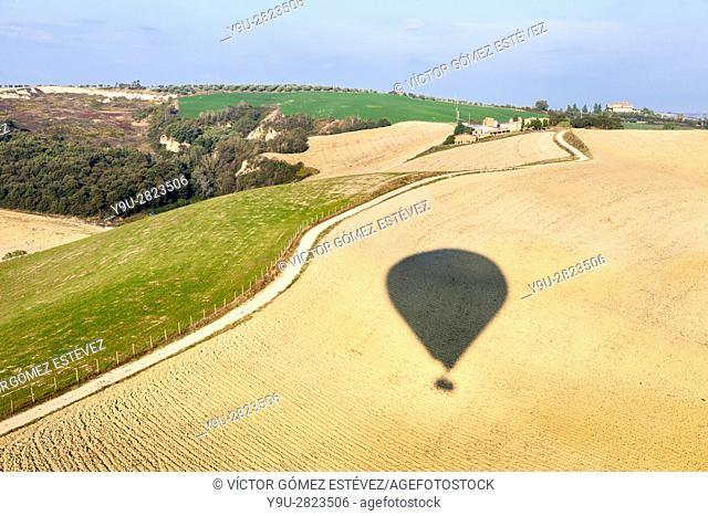 Vuelo en globo sobre la Toscana