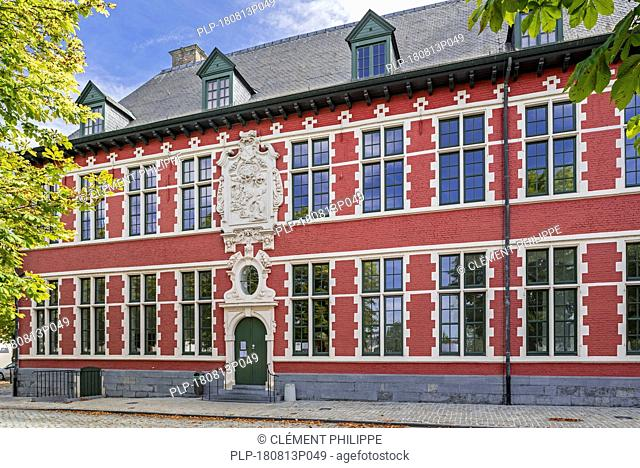17th century abbess house of the Cistercian Maagdendale abbey at Oudenaarde, East Flanders, Belgium