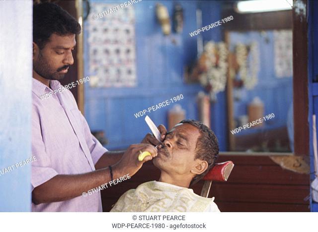 Local Barber, Goa, India