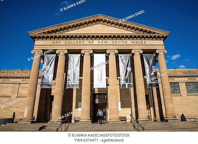 Art Gallery of New South Wales, Domain, Sydney, Australia