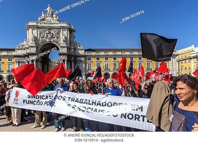 CGTP Protests in Lisbon, 29 September 2012, Portugal