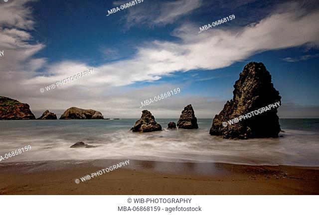 The USA, California, San Francisco, Rodeo-Beach