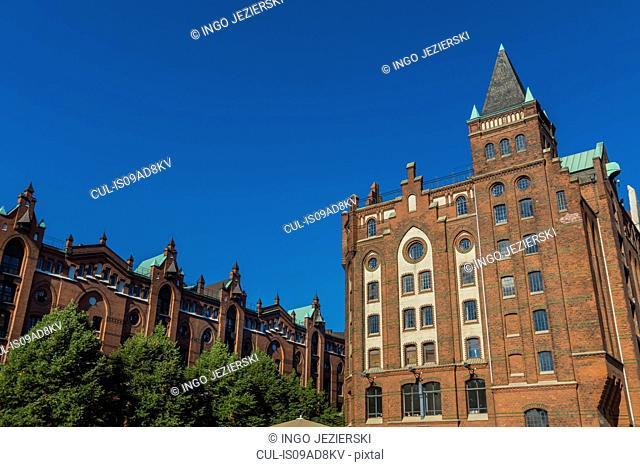 Speicherstadt (Storage City), Hamburg, Germany