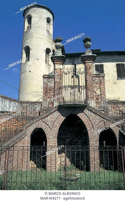 italy, lombardia, gambolò, beccaria-litta castle