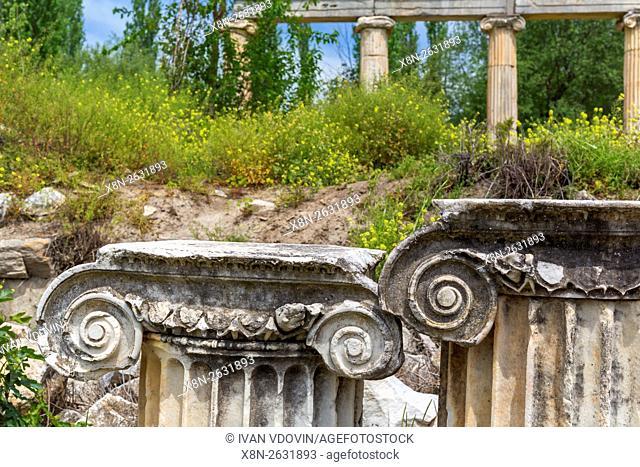 Ruins of ancient Aphrodisias, Aydin Province, Turkey