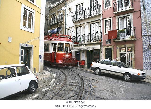 Portugal, Lisbon, tram 28