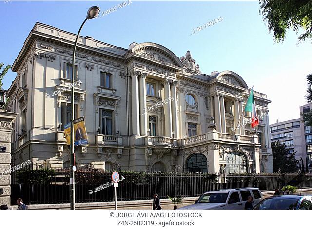 Italian Embassy, Palacio de Amboage, Madrid, Spain