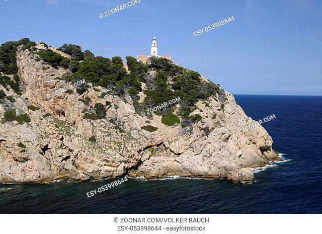 Punta de Capdepera, punta, mallorca, balearen, spanien, mittelmeer, capdepera, kap, cala ratjada, cala rajada, cala, rajada, ratjada, natur, küste, leuchtturm