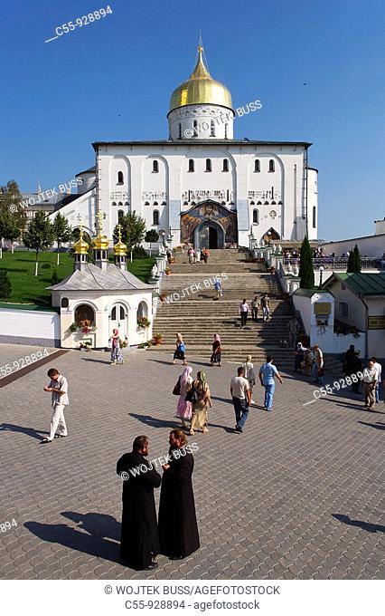 Pochayiv, Poczajow, Holy Dormition Monastery, Holy Trinity Cathedral, 1906-1912, Western Ukraine, Ternopil Oblast