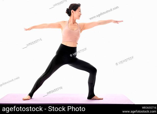 Practice yoga in midlife women