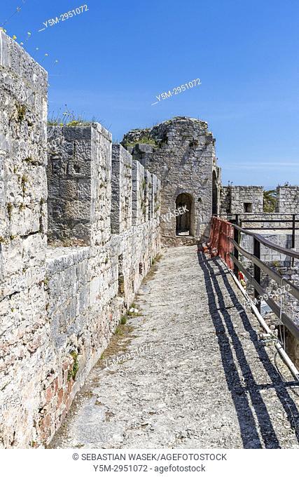 Kamerlengo Castle, Trogir, Splitsko-Dalmatinska, Dalmatia, Croatia, Europe