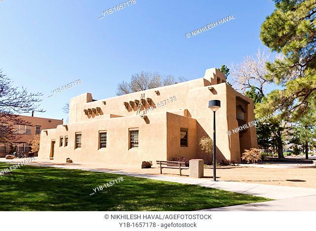 Alumni Memorial Chapel, UNM, Albuquerque