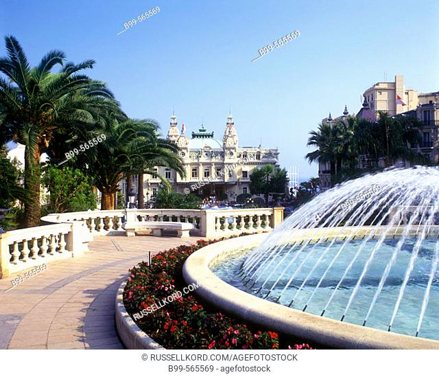 Place Du Casino, Montecarlo, Principality Of Monaco