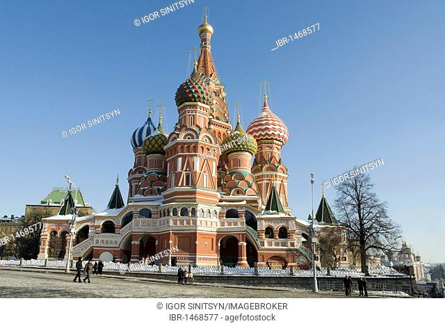 Orthodox Saint Basil's Cathedral, Moscow, Russia