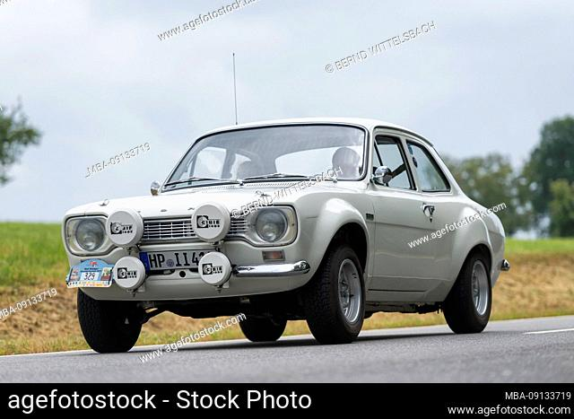 Bad König, Hesse, Germany, Ford Escort MK1 RS 1600 BDA, built in 1972, built in 1972, 1600 cc, 215 hp at the classic festival