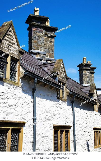 Almshouses Llanrwst Conwy Wales
