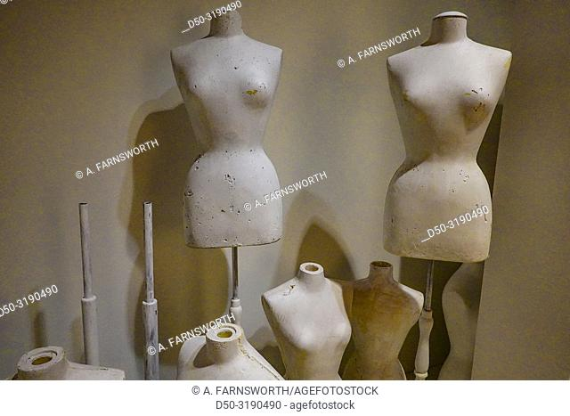 Stockholm, Sweden A fashion show about Hermes at the Arkipelag Mueum