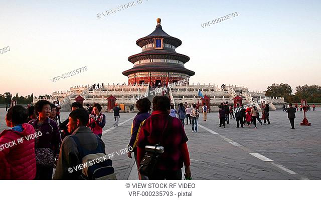 Temple of Heaven's time lapse