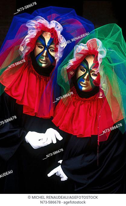Carnival. Venice. Italy (1992)