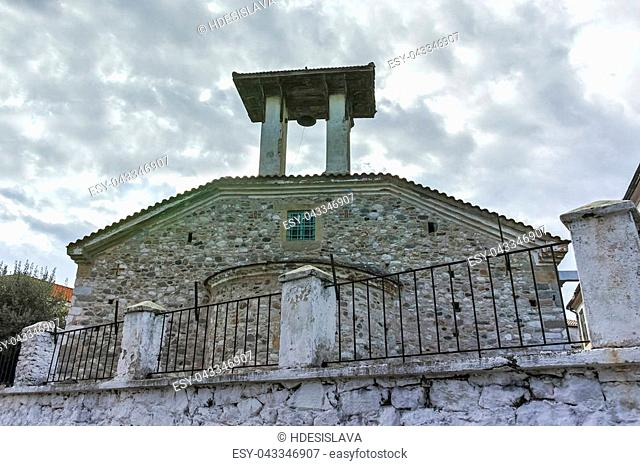 Orthodox church in old town of Xanthi, East Macedonia and Thrace, Greece