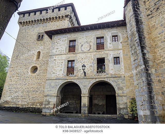 Conjunto Monumental de Ayala, Quejana, Alava, Pais Vasco, Spain