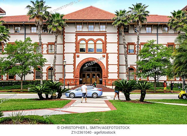 Proctor Library on the campus of Flagler College in St. Augustine FL