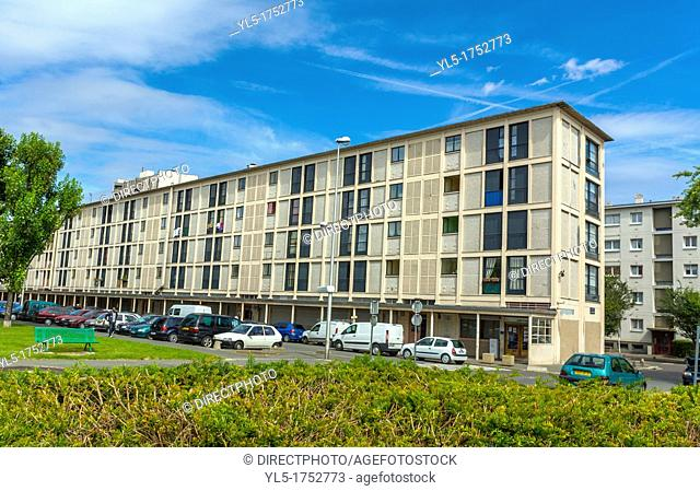 Paris, France, Public Housing Project in Suburbs, Drancy, Holding Place, Where in WWII, Nazi Deportations of Jews and other Foreigners, to German Death Camps