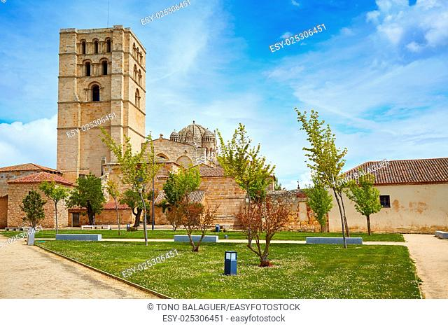 Zamora Cathedral in Spain by Via de la Plata way to Santiago