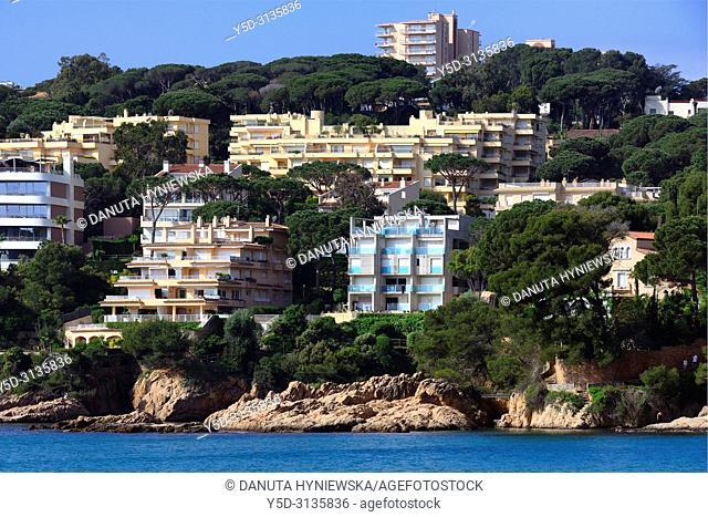 Sant Feliu de Guixols resort, Costa Brava, Baix Empordà, Catalonia, Spain, Europe