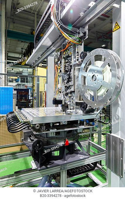 Tape Layer Cell, Wrapping equipment for manufacturing composite materials, aerospace industry, Industry Unit, Technology Centre, Tecnalia Research & Innovation