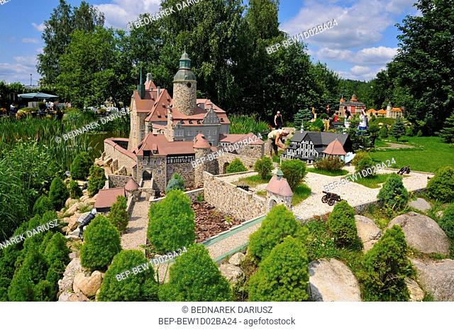 Park of Miniatures of Lower Silesia Monuments. Kowary, Lower Silesian Voivodeship, Poland