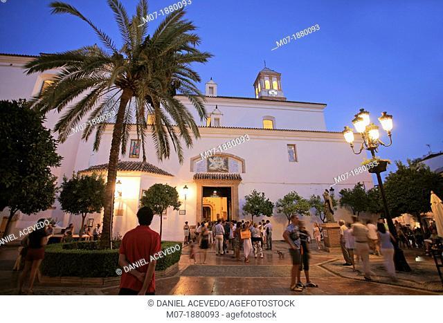 Marbella beautiful old village, Málaga, Andalucia, Spain