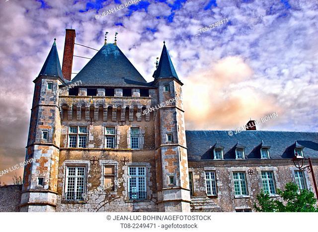 france, loire castles : talcy castle