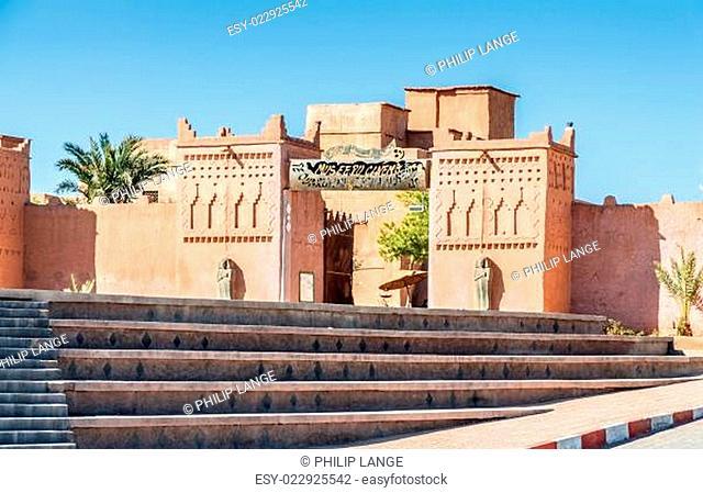 Cinema museum in Ouarzazate, Morocco, Africa