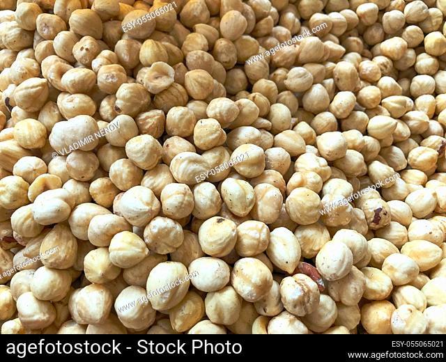 Full Frame Shot Of Chickpeas Background