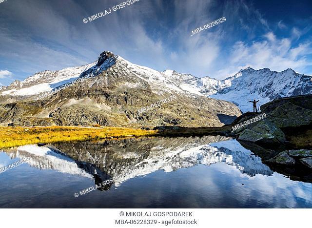 Austria, National Park Hohe Tauern, Salzburger Land, Uttendorf, Weißsee Glacier World, Autumn Austria
