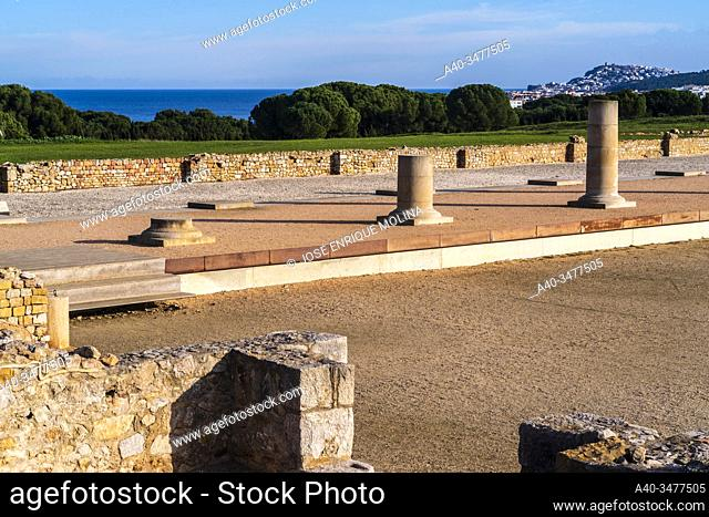 Greek / Roman archeological site of Ampuries, Girona, Catalonia, Spain