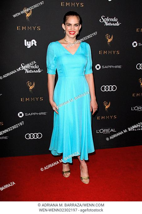 Television Academy 69th Emmy Performer Nominees Cocktail Reception held at the Wallis Annenberg Center for the Performing Arts - Arrivals Featuring: Anna...