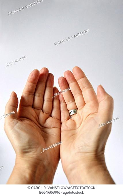 praying hands- muslim