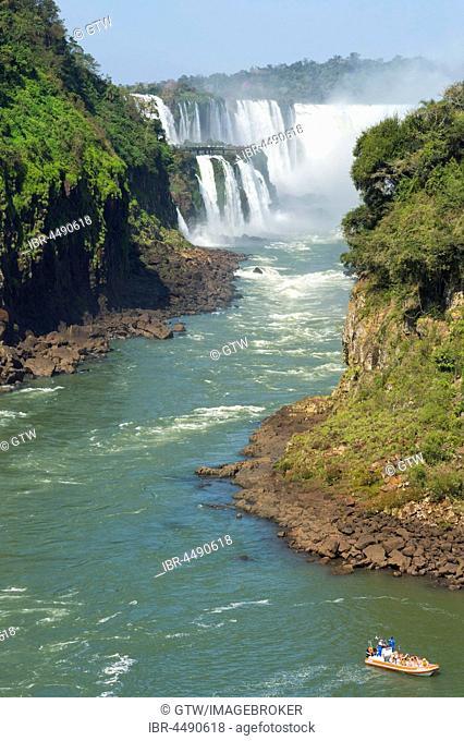 Iguazu Falls from Argentinian side, Argentina, Brazil