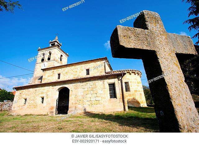 Church of Quisicedo, Burgos, Castilla y Leon, Spain